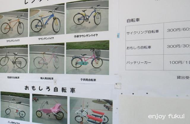 北潟湖サイクリング