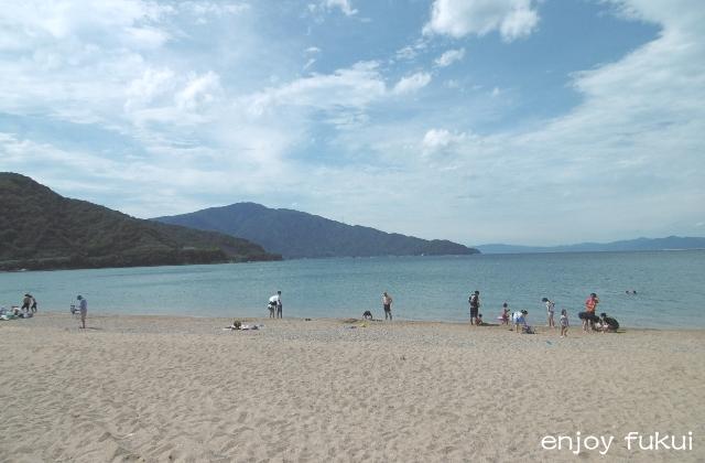 気比の松原海水浴場