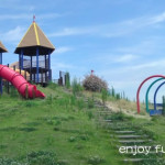 街中にあるアクセス便利な大型公園「クレヨンランドかなづ」