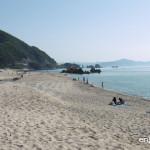 福井県でも美しさは抜群!海水浴ならここ!水晶浜